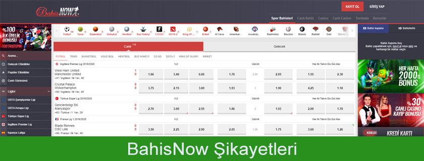 Bahisnow şikayetleri, Bahisnow kullanıcı yorumları, Bahisnow müşteri hizmetleri, Bahisnow canlı destek