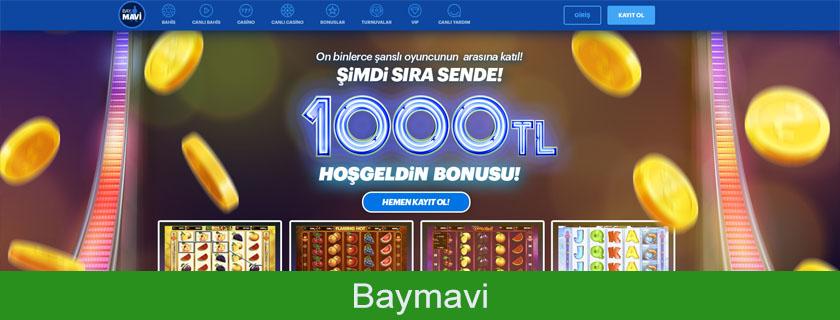 Baymavi inceleme, Baymavi, Baymavi bonus, Baymavi canlı casino