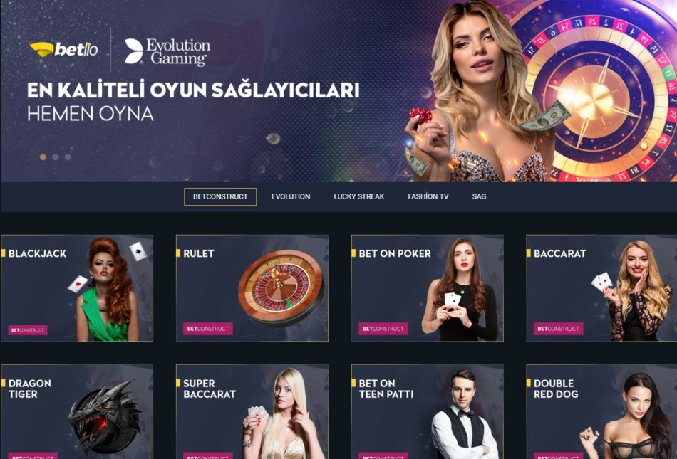 Betlio Casino Giriş