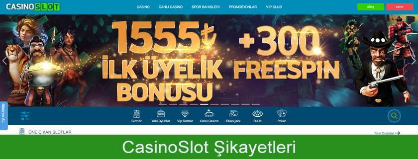 Casino slot şikayetleri, Casino slot şikayet konuları, Casino slot şikayet çözümü