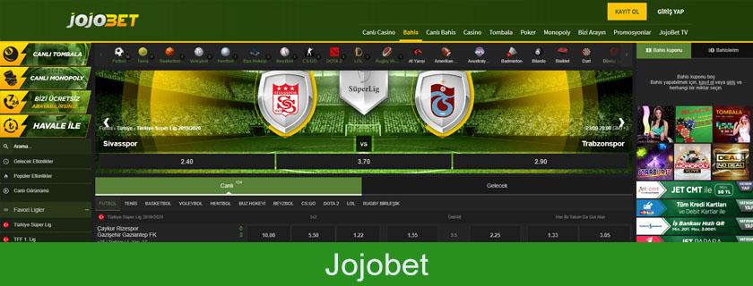 Jojobet para çekme, Jojobet bonusları, Jojobet para yatırma