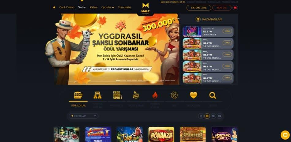 maltcasino slot oyunları