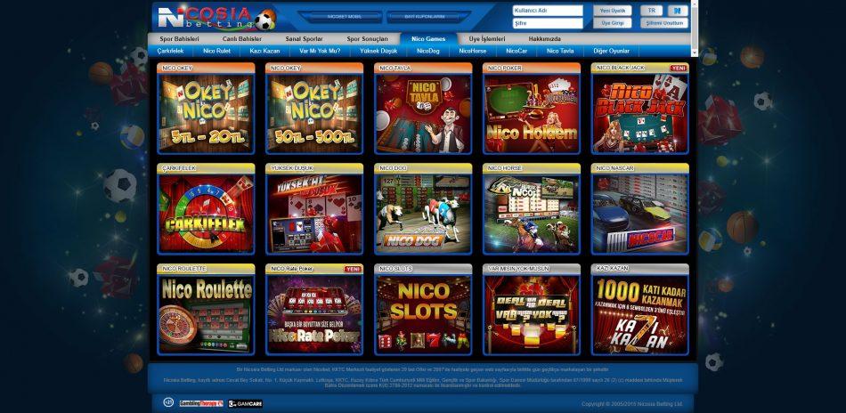 nicosia betting casino